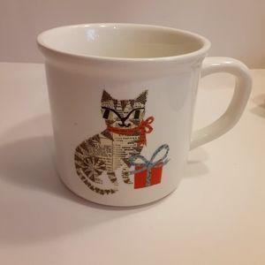 ♥️HOST PICK😍 Potterybarn Kitty Art Mug